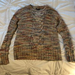 Multicolor American Eagle knit sweater